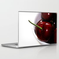 cherry Laptop & iPad Skins featuring Cherry by LoRo  Art & Pictures