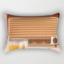 Radio & Whiskey Rectangular Pillow