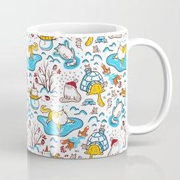 Winter Cats Coffee Mug