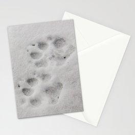 Yellow Stone - Wolf Tracks Stationery Cards