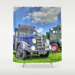 Bedford Dropside Tipper Shower Curtain