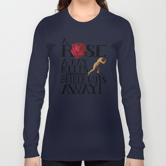 A Rose A Day Long Sleeve T-shirt
