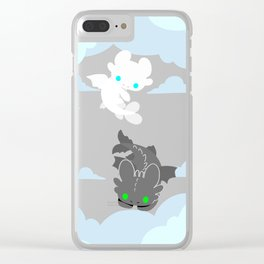 TOOTHLESS and HIS GIRLFRIEND Clear iPhone Case