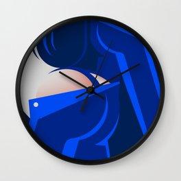 Blue Jeans 3/3 Wall Clock