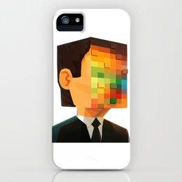 Pixel head iPhone Case