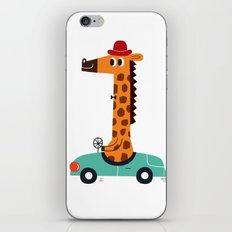 giraffe driver iPhone & iPod Skin
