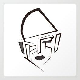 Pharrell Art Print