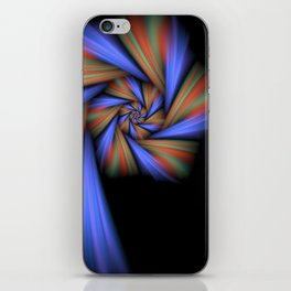 Spiral Loner iPhone Skin