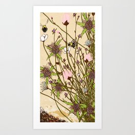 Wild Flowers Part 1 Art Print