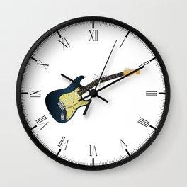 Clean Guitar Neck Break Wall Clock
