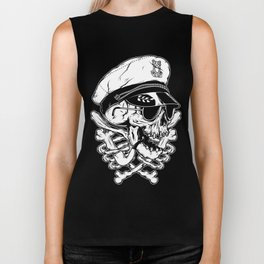 Death Captain Biker Tank