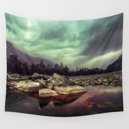 Mystic River Wall Tapestry