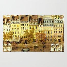 Paris - Skyline from the Pompidou Rug
