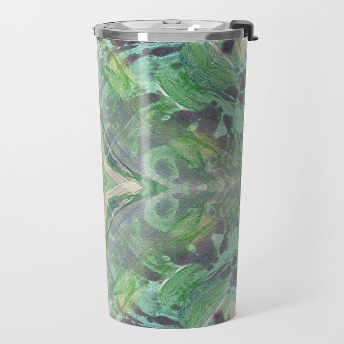 Abstract Texture Travel Mug