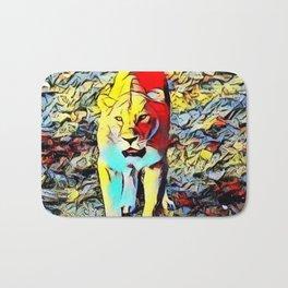 Color Kick -Lion Bath Mat