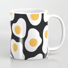 Cracking Fried Egg Pattern Coffee Mug