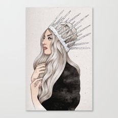 Silver Blonde Canvas Print
