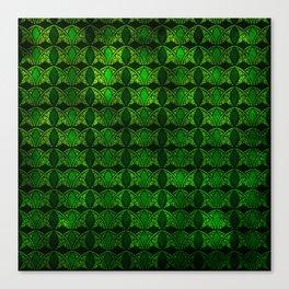 Emerald Arches Canvas Print