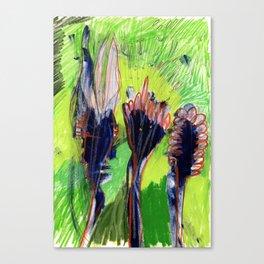 Uppity Flowers Canvas Print