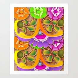 Mexican Lucky 2 Art Print