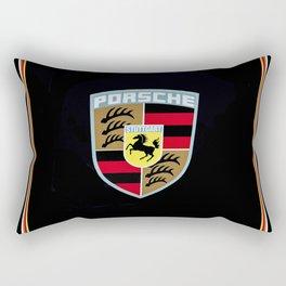 Porsche Automobile Emblem Rectangular Pillow