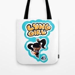 Lung Girl 2 Tote Bag