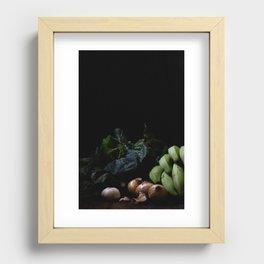 Katogo Recessed Framed Print