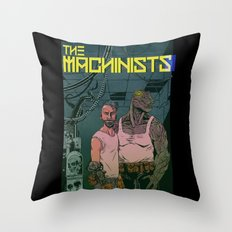 The Machinists Throw Pillow