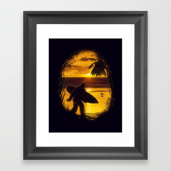 Secret Spot Framed Art Print