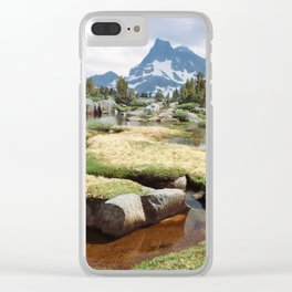 Banner Peak Clear iPhone Case