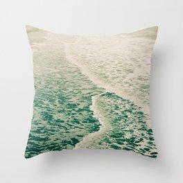 Beautiful Summer Sea Throw Pillow