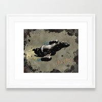 firefly Framed Art Prints featuring Firefly by Ralf Crawford