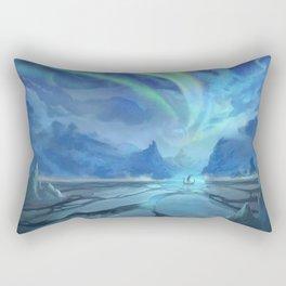 Floki Discovers Iceland Rectangular Pillow