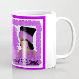 A Purple-Violet Merry Christmas Coffee Mug
