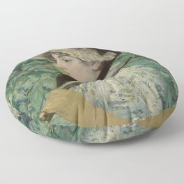 Edouard Manet - Spring Floor Pillow