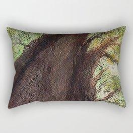 Ahuehuete Ancestral - Ancient Ahuehuete Rectangular Pillow