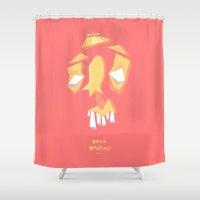 dentist Shower Curtains featuring Dear Dentist... by 5wingerone