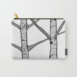 Poplar Tree Illustration Carry-All Pouch