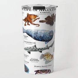 Marine Life of Monterey Bay Travel Mug