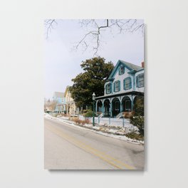 Houses of Cape May Metal Print
