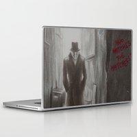 rorschach Laptop & iPad Skins featuring Rorschach by JadeJonesArt