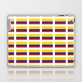 Flag of Colombia 2 -Colombian,Bogota,Medellin,Marquez,america,south america,tropical,latine america Laptop & iPad Skin