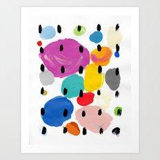 Bernard Pattern Art Print