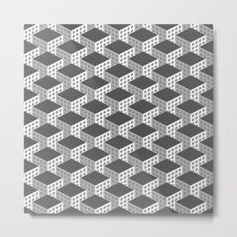 ISOMETRIC SKYSCRAPERS Metal Print