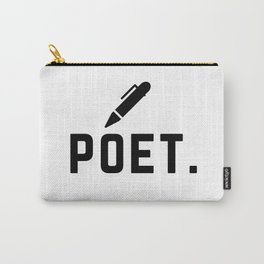 poet. Carry-All Pouch