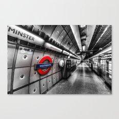Going Underground Canvas Print