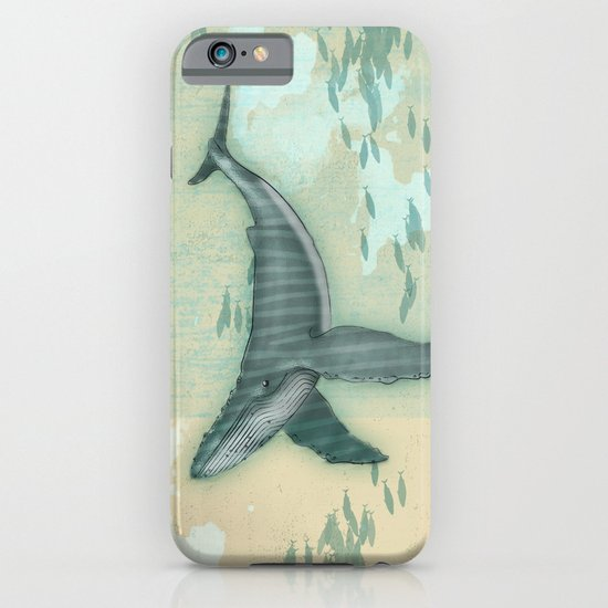 rhythm of the whale iPhone & iPod Case