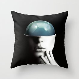 Spherical beauty  Throw Pillow