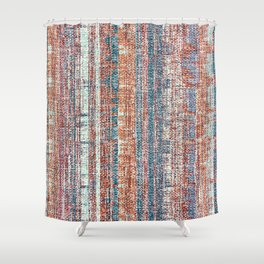 Abstract background textile Shower Curtain