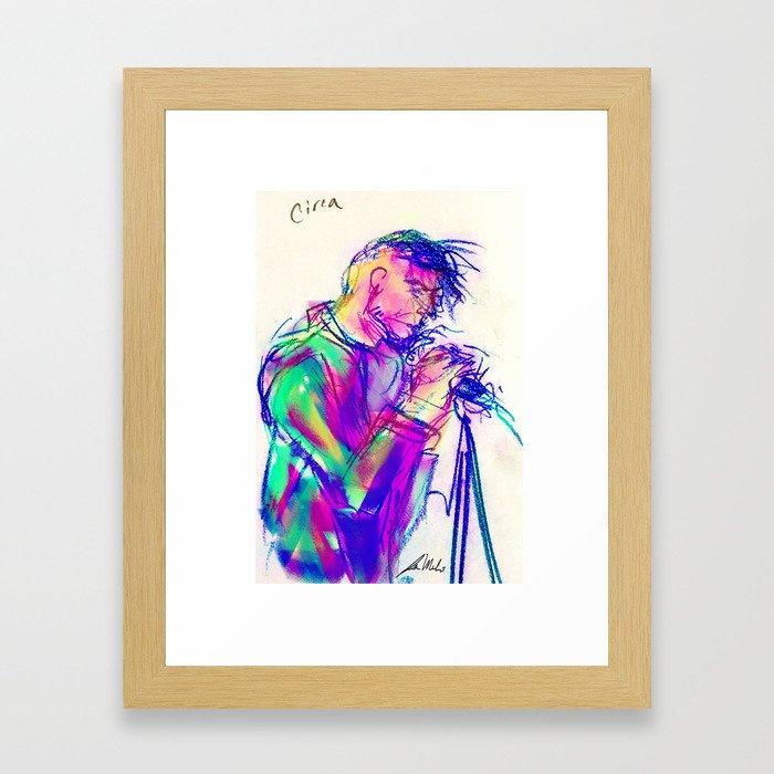 Circa Survive Framed Art Print